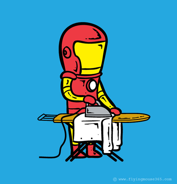iron-man-Funny-poster