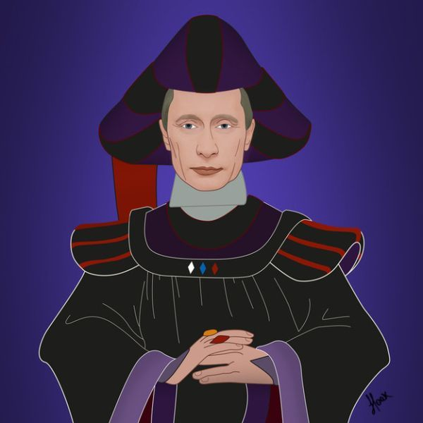 Global-Politicians-As-Disney-Villains-by-Saint-Hoax-Vladimir-Putin